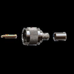 Разъем N-типа, вилка, для кабеля 5D (обжимной)