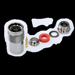 Разъем N-типа, вилка, для кабеля 5D (прижимной), N-112/5D